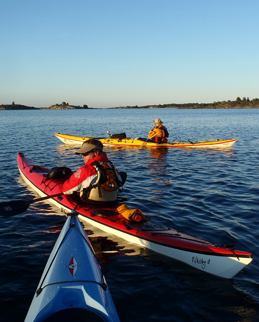 Whisky18 kayaks on expedition in Aland Islands, Nigel Foster